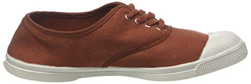 Bensimon 0706 Marron Noisette Tennis Baskets Lacet Femme Pwr7YfP
