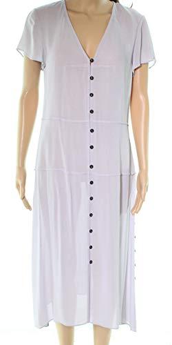(rag & bone McCormick Sheer Crepe de Chine midi Dress (Small))