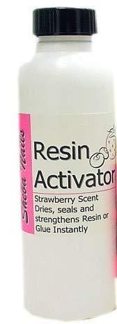 SHEBA NAILS Resin Activator 8oz Refill - Strawberry Scent by Sheba Nails