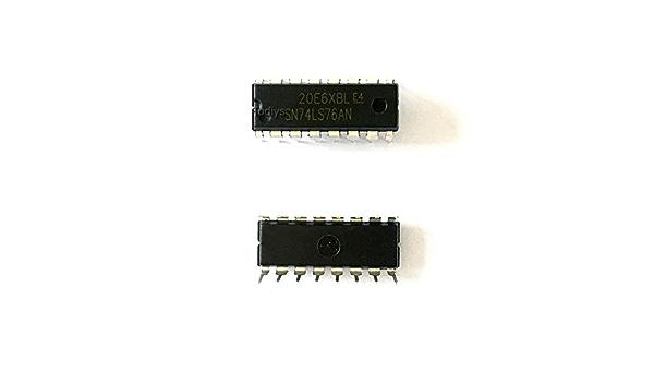 Todiys New 10Pcs for 74LS76 74LS76N SN74LS76 SN74LS76N SN74LS76AN HD74LS76AP DM74LS76N DIP-16 Dual JK Flip-Flop IC HD74LS76P