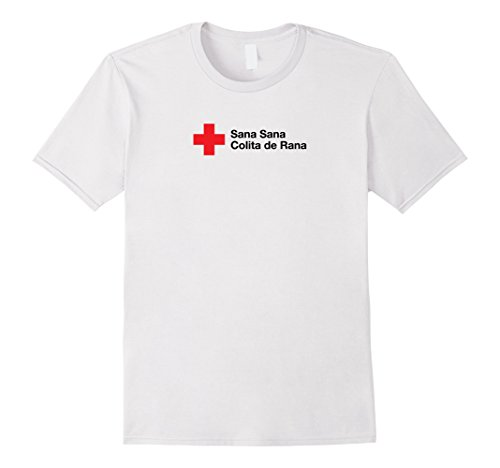 Mens Petey Weedy: Sana Sana Colita de Rana T-Shirt Large ()