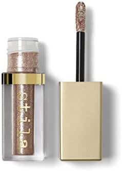 stila Magnificent Metals Glitter & Glow Liquid Eye Shadow, Kitten Karma (Champagne with Silver and Copper Sparkle)
