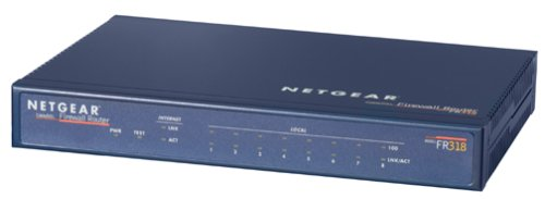 Netgear FR318 Cable/DSL Firewall Router with 8-Port Switch