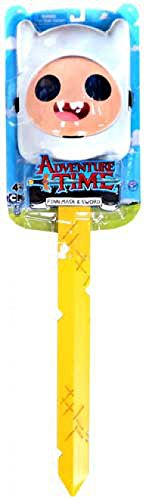 Adventure Time Finn Mask with Golden Sword of Battle -