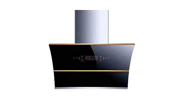 Campana extractora lateral succión cocina hogar motor doble apertura y cierre automáticos cuerpo de limpieza campana: Amazon.es: Hogar