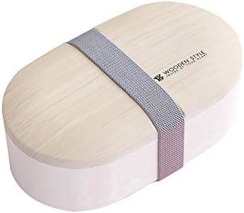 DIYOO Caja Bento Fiambrera Sellada Fiambrera Bamboo School ...