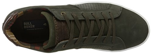 Baskets Vert 6074a P694 Green Bullboxer Homme q5BOw6a