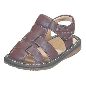Boys' Sandals Color: Brown, Size: 5 (Toddler)