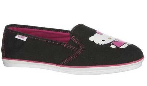 Vans Women's VANS KALANI (HELLO KITTY) CASUAL SHOES (5.5)