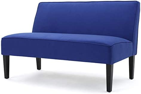 Christopher Knight Home Dejon Fabric Loveseat, Royal Blue