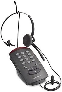 Price comparison product image Plantronics Two Line Headset Telephone (PL-T20) Category: Headsets and Accessories