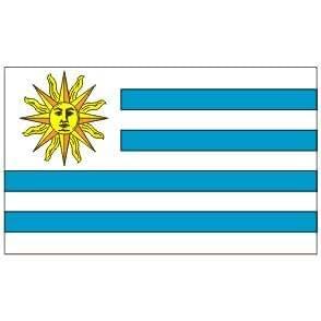 Uruguay Flag 4ft x 6ft Nylon - Outdoor