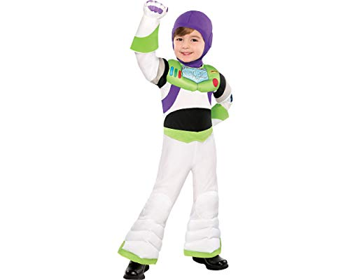 Party City Toy Story Buzz Lightyear Halloween for Toddler Boys, 3-4T, with Included Accessories