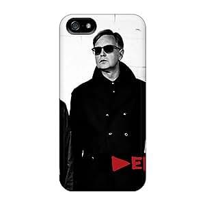 Case88zeng Apple Iphone 5/5s Great Hard Phone Case Support Personal Customs Beautiful Depeche Mode Band Series [AER2313jKaf]