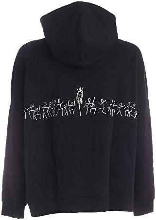 MARCELO BURLON Luxury Fashion Herren CMBB073E20FLE0011001 Schwarz Baumwolle Sweatshirt   Herbst Winter 20