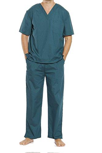 33000M-Hunter-S Tropi Unisex Scrub Sets / Medical Scrubs / Nursing -