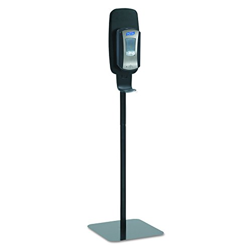 PURELL 2425-DS LTX or TFX Touch-Free Hand Sanitizer Dispenser Floor Stand, Black, 16 3/5w x 5 29/100d x 23 3/4h