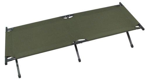 US Army Alu Feldbett oliv verstärkt Farbe Oliv