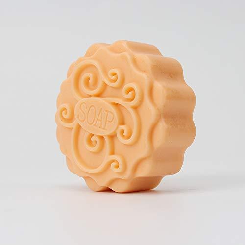 hecho a mano de resina para chocolate caramelos hecho a mano Molde de silicona Nicole con forma de tarta de luna