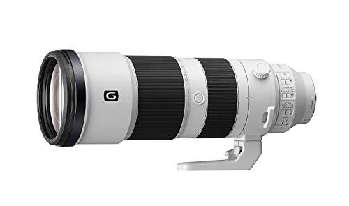 Sony FE 200-600mm f/5.6-6.3 G OSS Telephoto Zoom Lens (White)