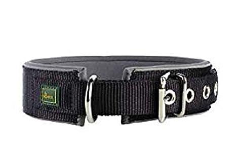 Hunter Collar de Neopreno Reflectante, para Perros, Negro (Negro ...