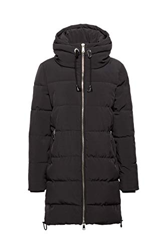 Negro Para Esprit black Abrigo 001 Mujer PtPn5Tq