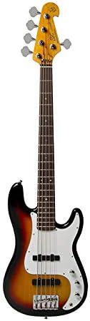 SX - Guitarra eléctrica (5 cuerdas): Amazon.es: Instrumentos musicales