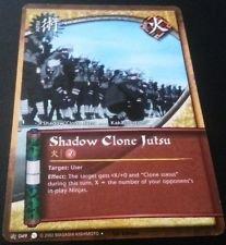 Naruto Card - Shadow Clone Jutsu - J049
