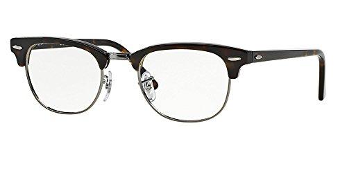 Ray-Ban RX5154 Clubmaster Eyeglasses Dark Havana - Ray Eyeglasses Ban Clubmaster