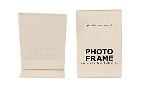 - Pack of 4 x6 Acrylic Picture Frames, Sign Holders 4x6 Vertical (12)