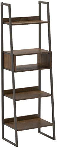 Rivet Roxmere Modern Bookcase, 23.6''W, Acacia, Sandblast Gray by Rivet (Image #10)