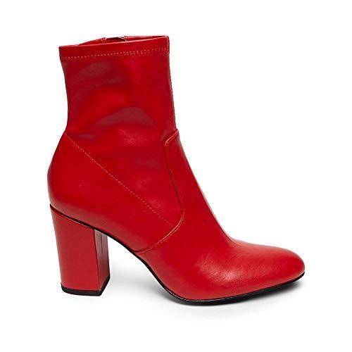 Rouge Actual Femme Classiques Steve Bottes Madden vqw7CUU4