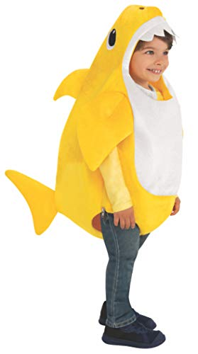 Rubie's Kid's Baby Shark Costume with Sound Chip, Infant