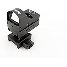 Monstrum R02 Ultra Compact Red Dot Sight with Light Sensor Auto Adjustment and 1 inch Picatinny Riser Mount