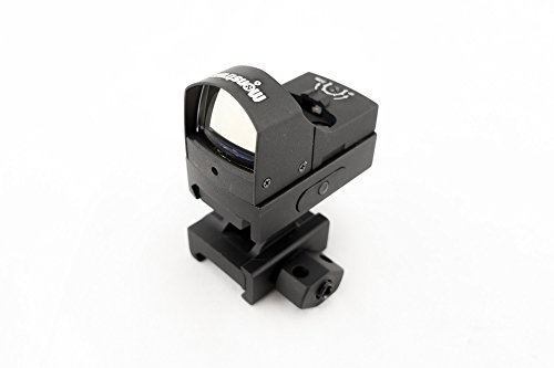 Monstrum R02 Ultra Compact Reflex Sight with Weaver/Picatinny Rail Mount (Red (Ultra Red Dot)