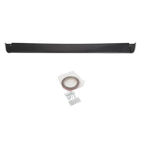 - Luyao Tailgate Intimidator Spoiler Top Protector Wing for 99-06 Chevy Silverado Sierra