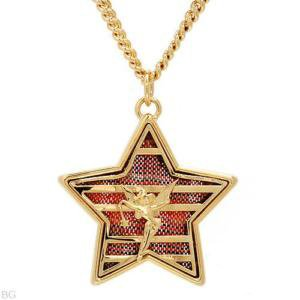 Disney Couture XOXO Tinkerbell Star Necklace - Disney Couture Accessories