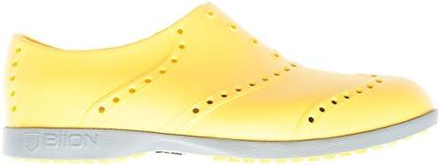 BI1124 ゴルフシューズ 軽量 カラー:マスタード/グレイ
