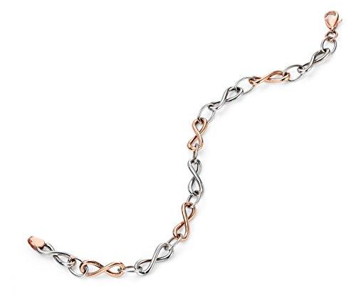 Elements - Bracelet - Or 2 couleurs - 18.4 cm - GB408