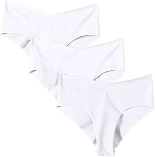 Sassa Laser-Cut Panty - Accesorio Mujer Blanco (Blanco 00100)