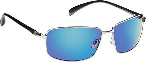 (Fisherman Eyewear Harbor Sunglasses, Shiny Gunmetal Frame, Large-X-Large)