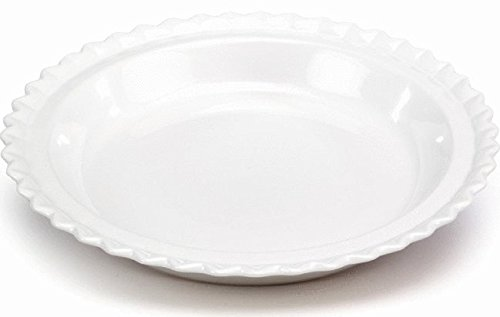 Chantal 93-PD23 WT Ceramic Pie Dish, 9