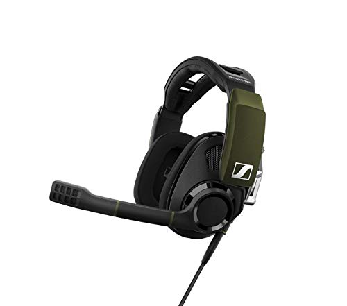 Auricular Sennheiser Gsp 550 7.1 Surround Sound Pc Gaming Headset Con Microfono