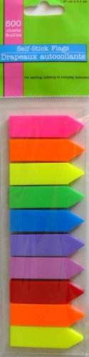 Self-Stick Flags (500 sheets per pack)
