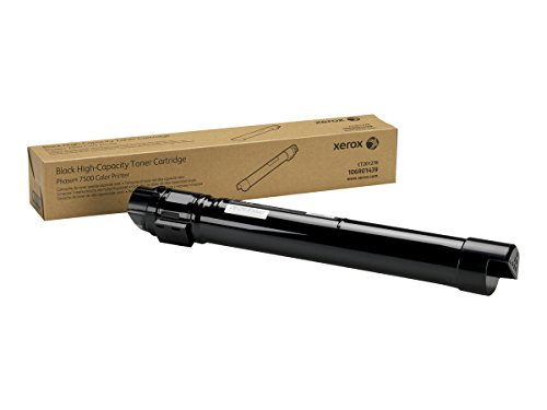 (Xerox 106R01439 Phaser 7500 Black High Capacity Toner Cartridge )