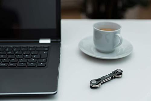 Amazon.com: Llavero compacto de alta calidad (aluminio de ...