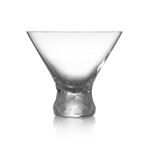 Moser Pebbles Stemless Martini, Clear by Moser