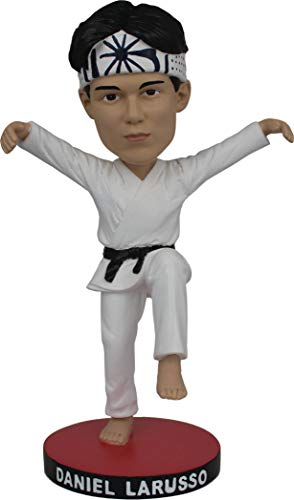 Icon Heroes JUN188846 Karate Kid: Daniel Larusso Bobble Head
