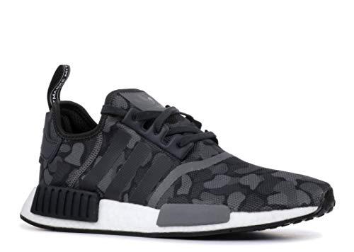 Pictures of adidas Originals NMD_R1 Shoe Men's Casual D96616 Core Black/Grey 1
