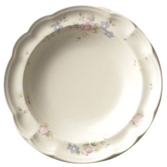 Pfaltzgraff Rim Soup Bowl (Pfaltzgraff Tea Rose Open Stock Wide Rim Soup Bowl)